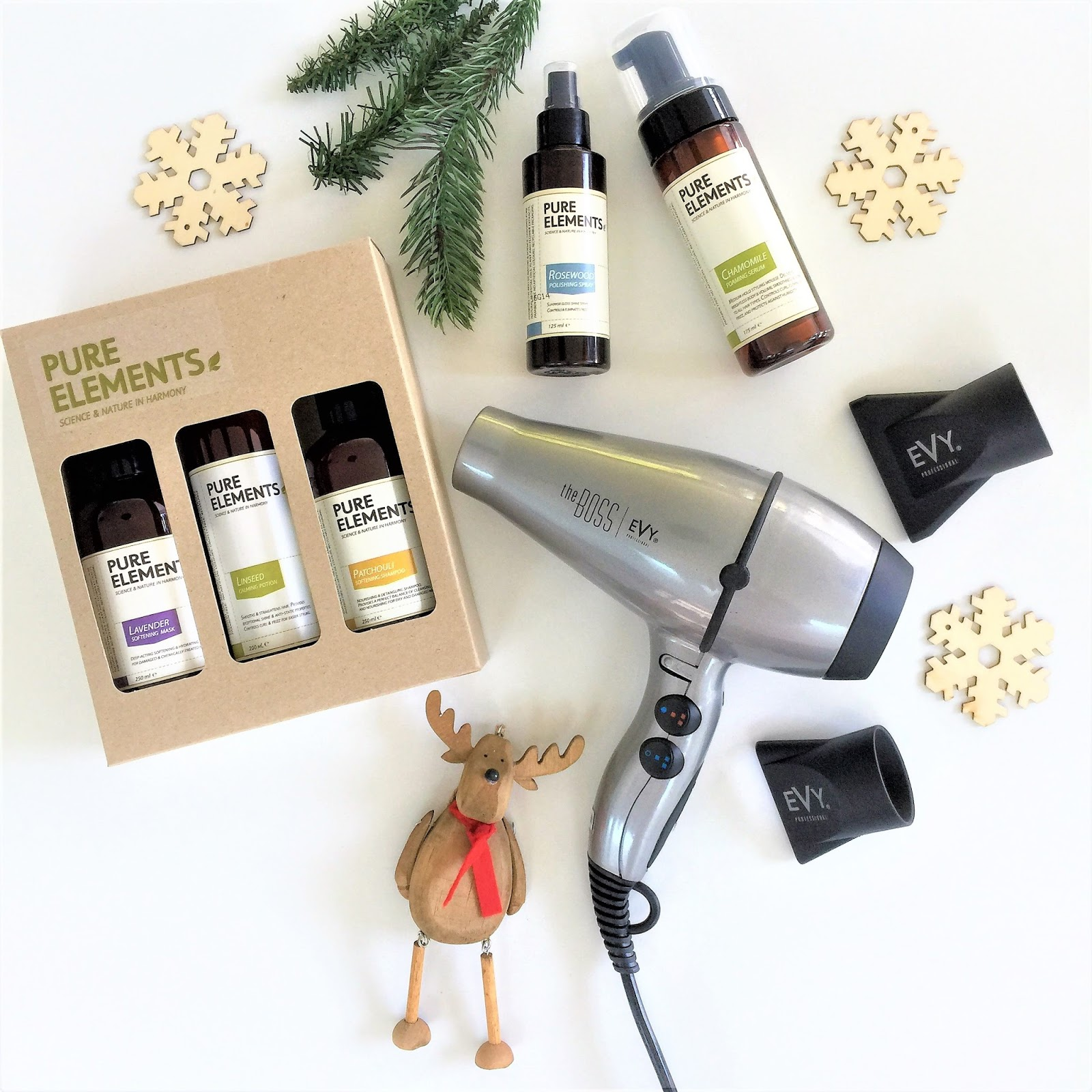 If you are still looking for great gift ideas then what about some hair care. The Pure Elements has some incredible Xmas gift packs.  sc 1 st  The Beauty u0026 Lifestyle Hunter & XMAS GIFT IDEAS FROM PURE ELEMENTS AND EVY PROFESSIONAL | The Beauty ...