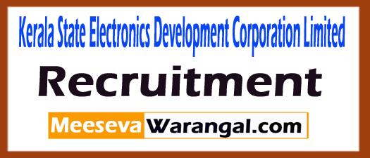 KELTRON (Kerala State Electronic Development Corporation Limited Recruitment