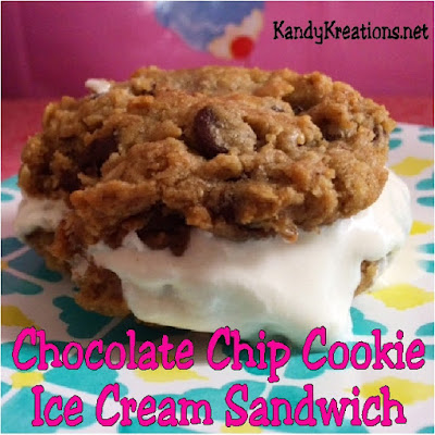 Beat the heat this summer with these addictive Ice Cream Cookie Sandwiches.  You won't be able to stop eating them and enjoying the rich flavors and cool textures.  You can print the Chocolate Chip Cookie Ice Cream Sandwich recipe here and make these delicious desserts all summer long.