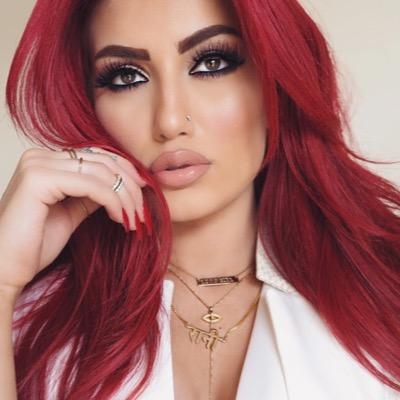 Color de pelo rojo para piel clara