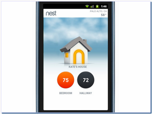 Nest Thermostat Iphone Application