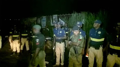 Photos: Lagos Police, Traditional and Religious leaders, vigilante groups, hold meeting over Badoo attacks in Ikorodu