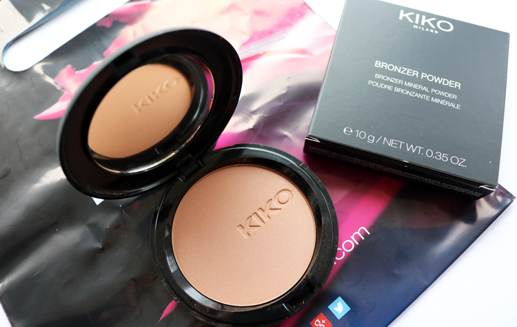 KIKO Bronzer Powder 102 swatches review