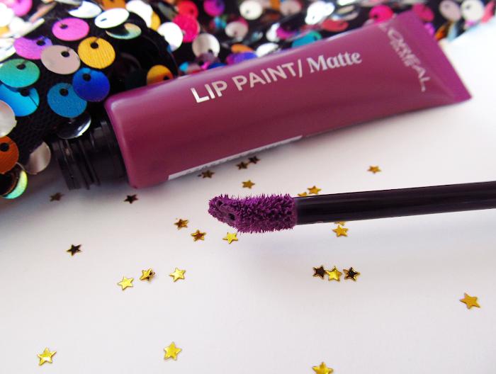 loreal lip paints applicator