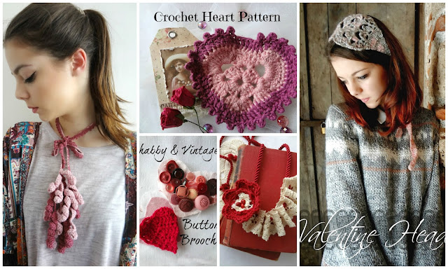 Valentine's Day: Free Patterns and Tutorials