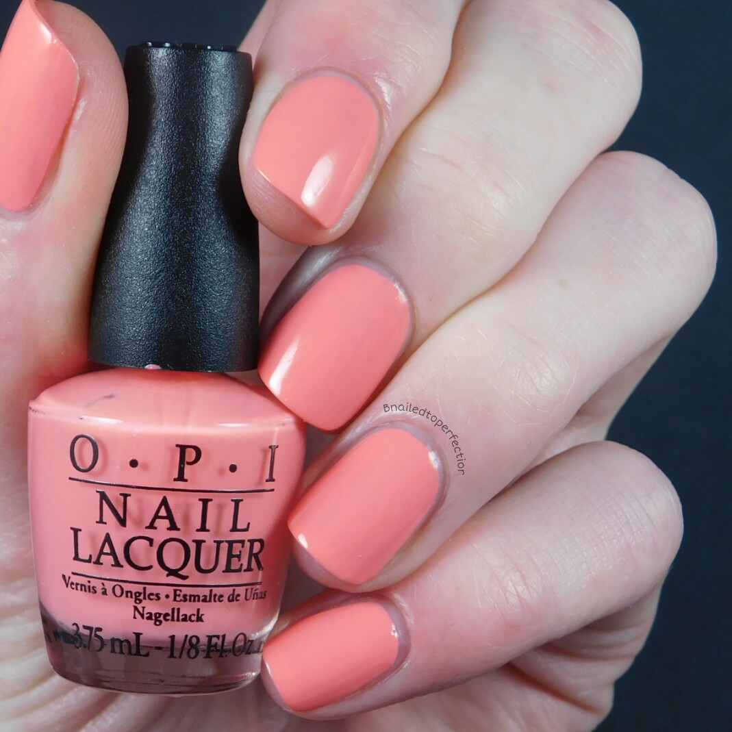 B nailed to perfection opi new orleans mini set review and swatches got myself into a jam balaya is a lovely peachy coral i found the formula on this one hard to work with it was quoie streaky and took three coats to be solutioingenieria Images