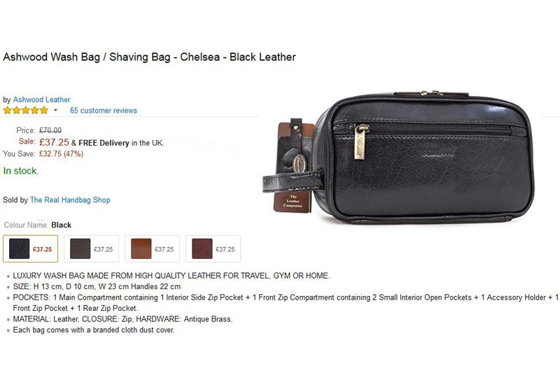 5077e5f5558d The January Sale is Now On! 100s of Leather Bags ...