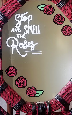 Smell the Roses Updated on the Virtual Refrigerator  - share your art posts on our Virtual Refrigerator - an art link-up hosted by Homeschool Coffee Break @ kympossibleblog.blogspot.com