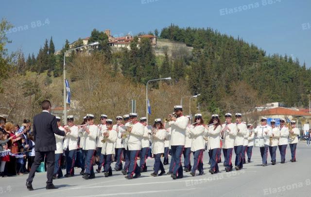 Με λαμπρότητα τιμήθηκε στην Ελασσόνα η εθνική επέτειος της 25ης Μαρτίου [74 εικόνες]