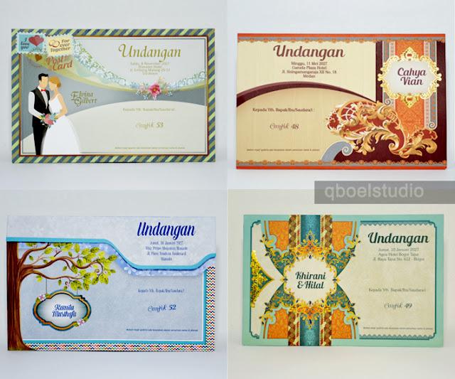 Undangan Pernikahan CANTIK Cuma Rp.1500