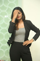 Actress Eesha Looks gorgeous in Blazer and T Shirt at Ami Tumi success meet ~  Exclusive 147.JPG
