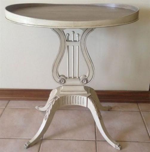 accent tables vintage