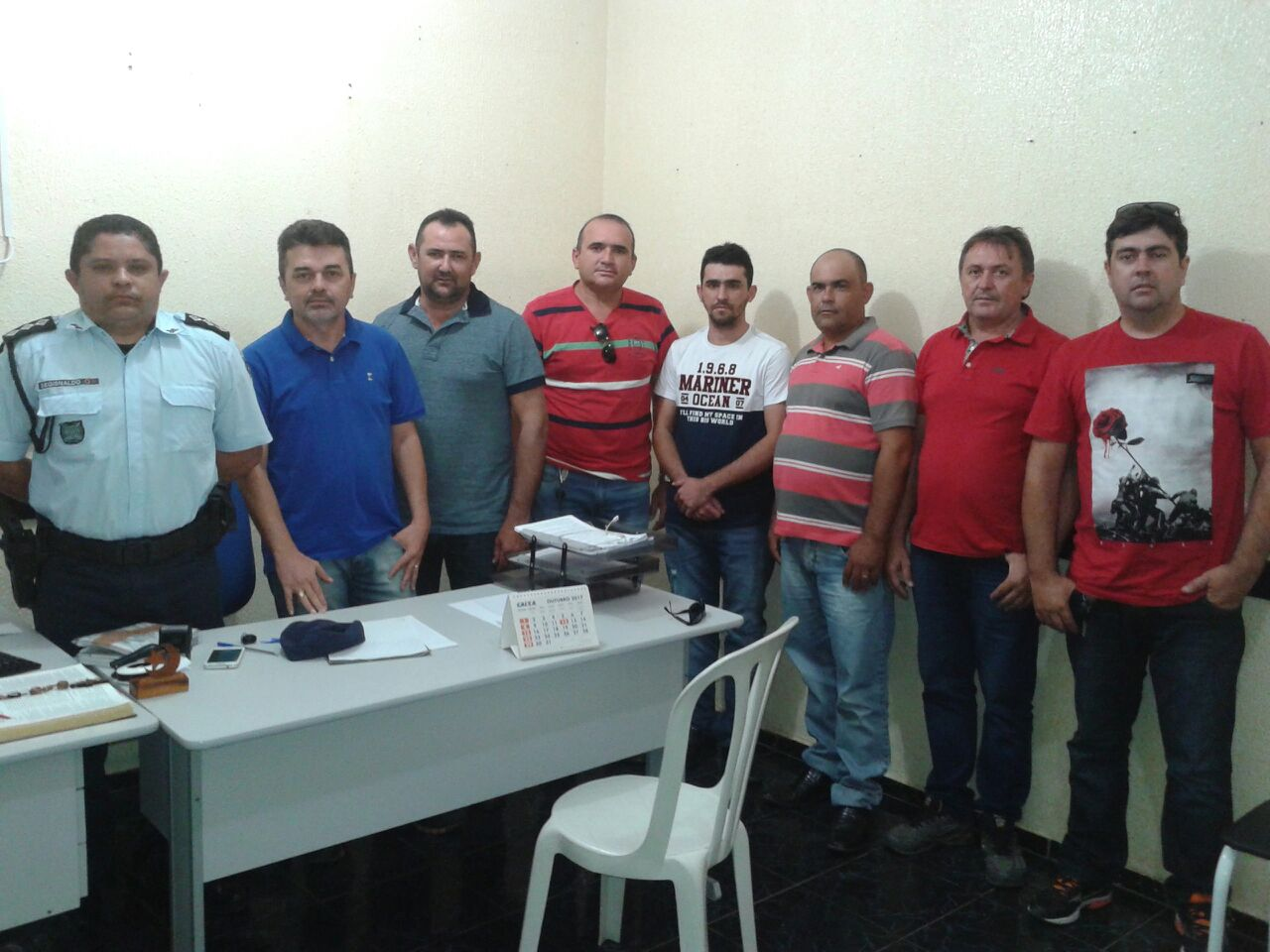 MOMBAÇA  Grupo de Vereadores tem encontro com novo comandante da Companhia  da PM de Mombaça. 0a392fe61c