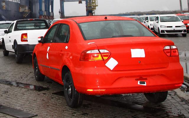 Volkswagen Voyage - exportação