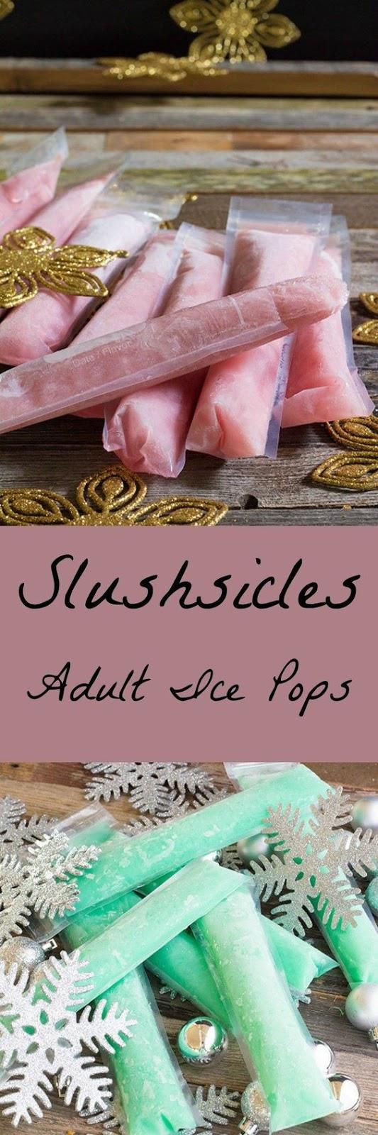 Slushsicles Adult Ice Pops
