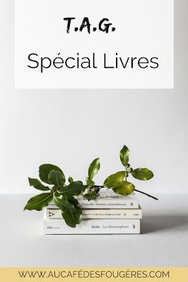 un tag dédié aux livres et à la lecture