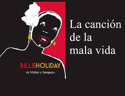 Ruben Varillas: Billie Holiday de Muñoz y Sampayo. La canción de la mala vida