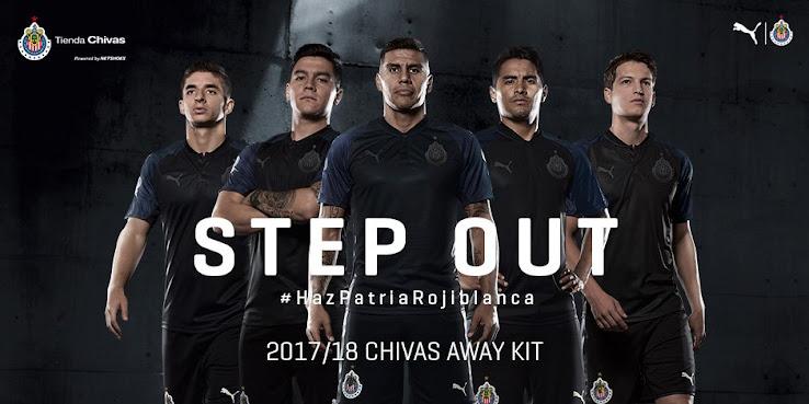 on sale b18bd cc71f Chivas 2017-2018 Away Kit Released - Footy Headlines