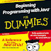 Beginning Programming with Java FOR DUMmIES E-Book PDF Download