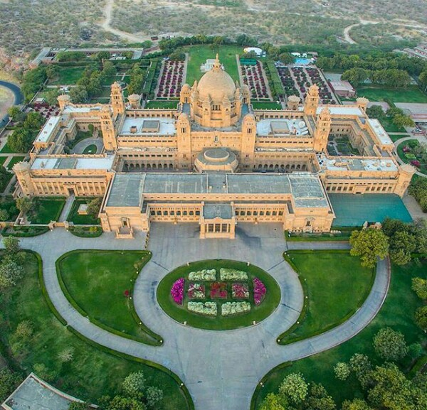 Photos of the opulent palace where Bollywood actress Priyanka Chopra and American singer Nick Jonas are getting married this weekend