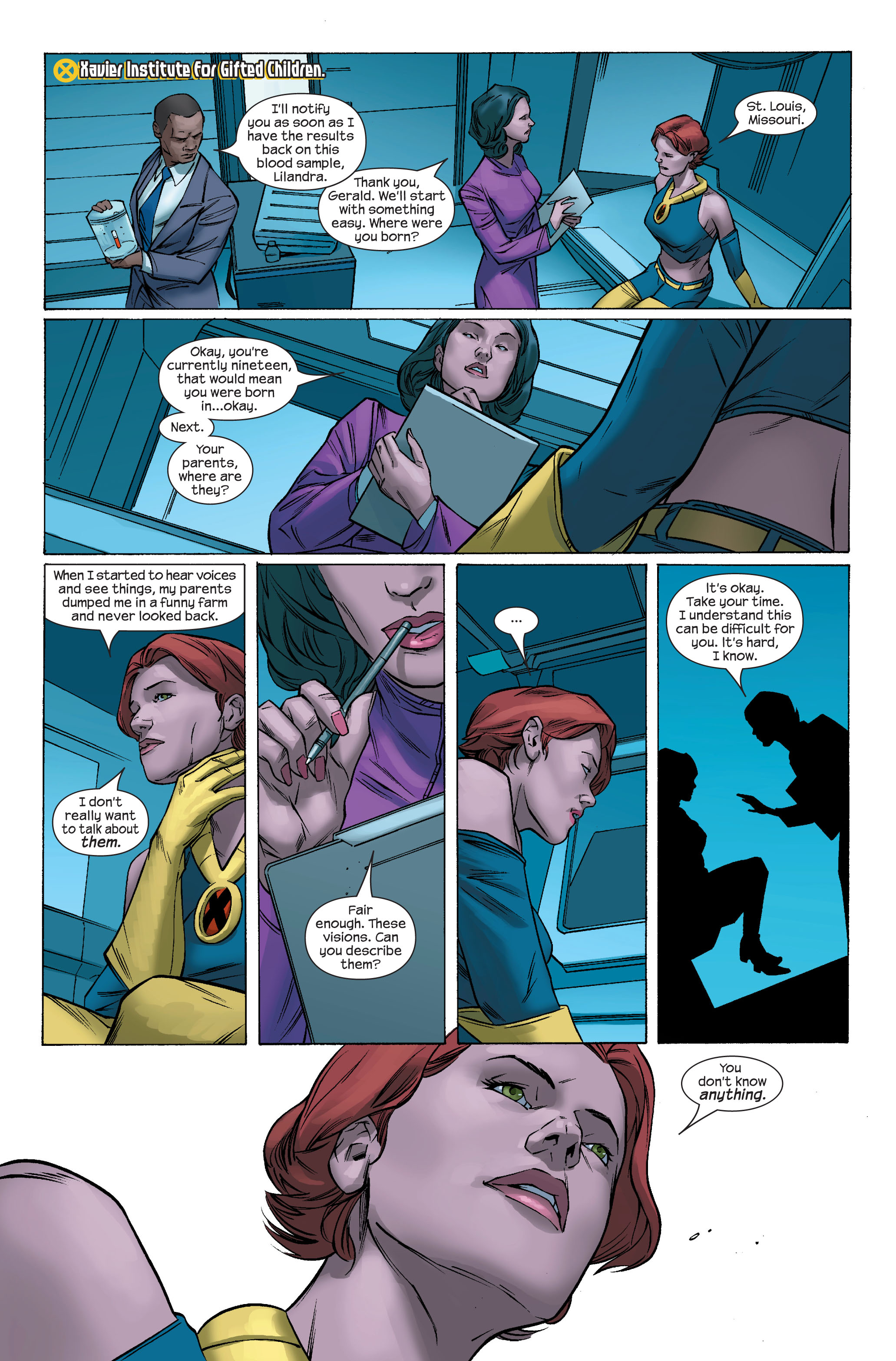 Read online Ultimate X-Men comic -  Issue #70 - 12