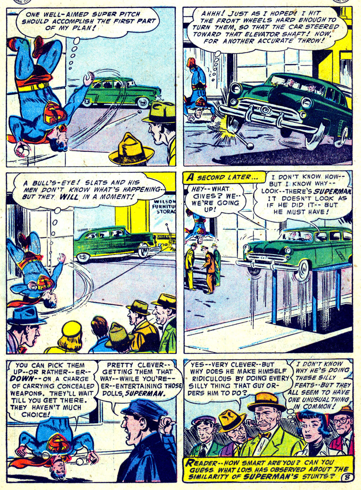 Read online Action Comics (1938) comic -  Issue #204 - 9