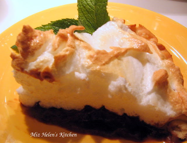 Chocolate Cream Pie at Miz Helen's Country Cottage