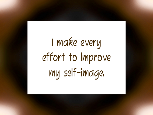 IMAGE affirmation
