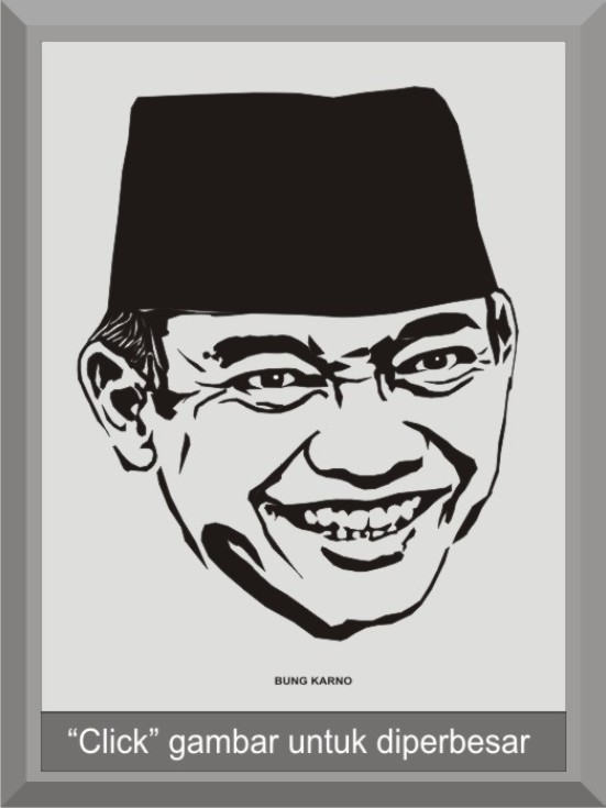 Nama Gambar  SOEKARNO  Indonesian founding father