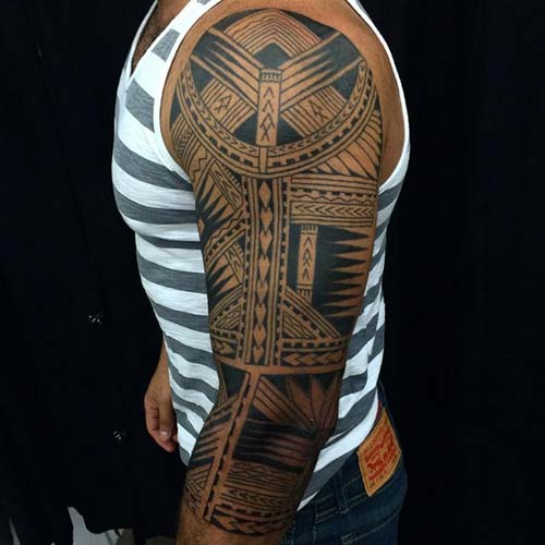 maori tribal dövmeler tattoos 10