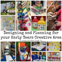 Early Years Creative Area