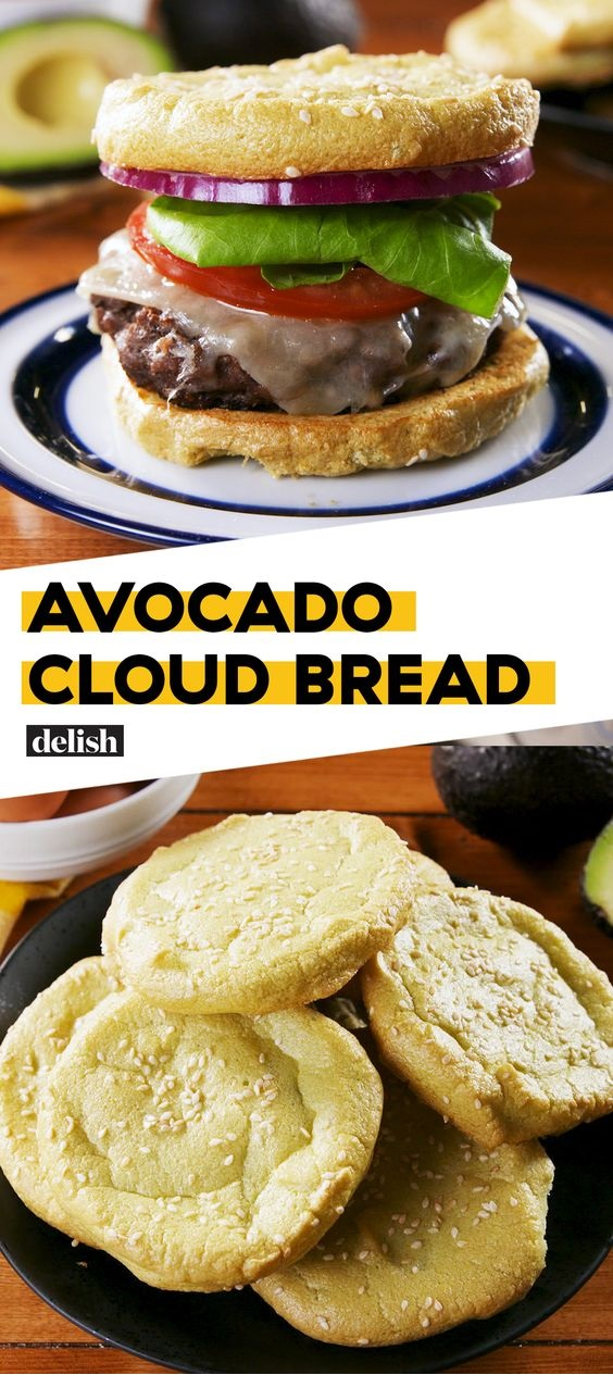 Avocado Cloud Bread