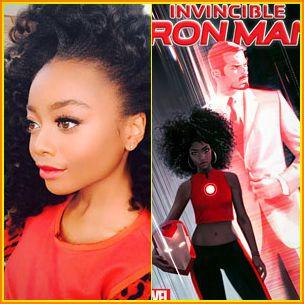 Watak Iron Man baru dipegang seorang gadis