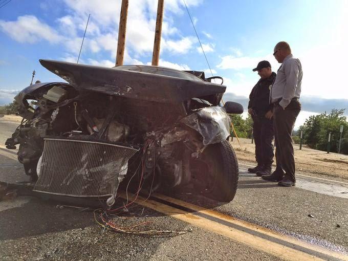 Car Crash Visalia Ca