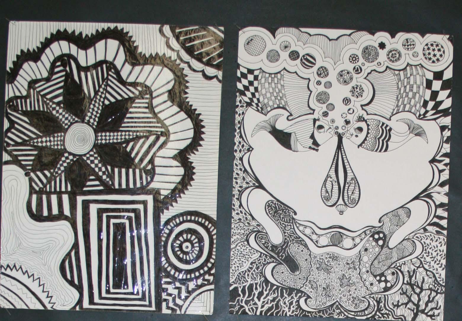 Mrs Macre S Art Class Art 1 Line Designs Lesson