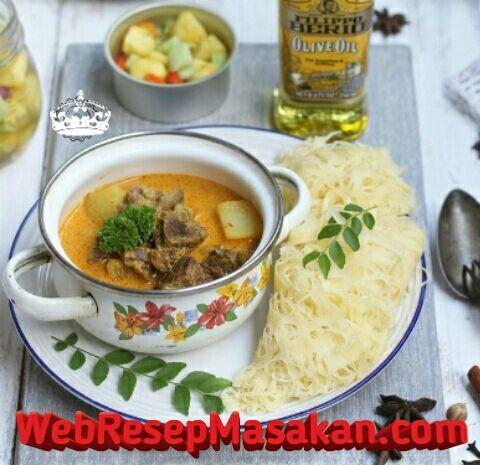 Roti Jala, Resep Roti Jala, Roti jala kari kambing,