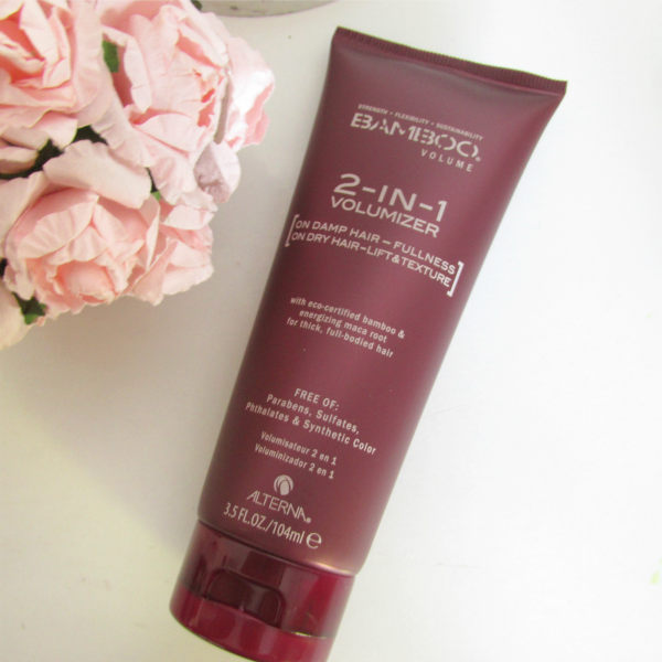 ALTERNA Bamboo Volume 2 in 1 Volumizer Review, Erfahrungen