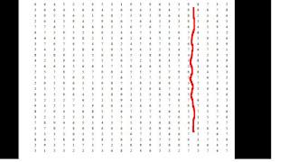 perhitungan tes koran model sari samping atau menyamping