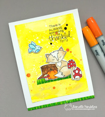 Bushels of Love | Newtons Nook Designs | Card Created by Danielle Pandeline
