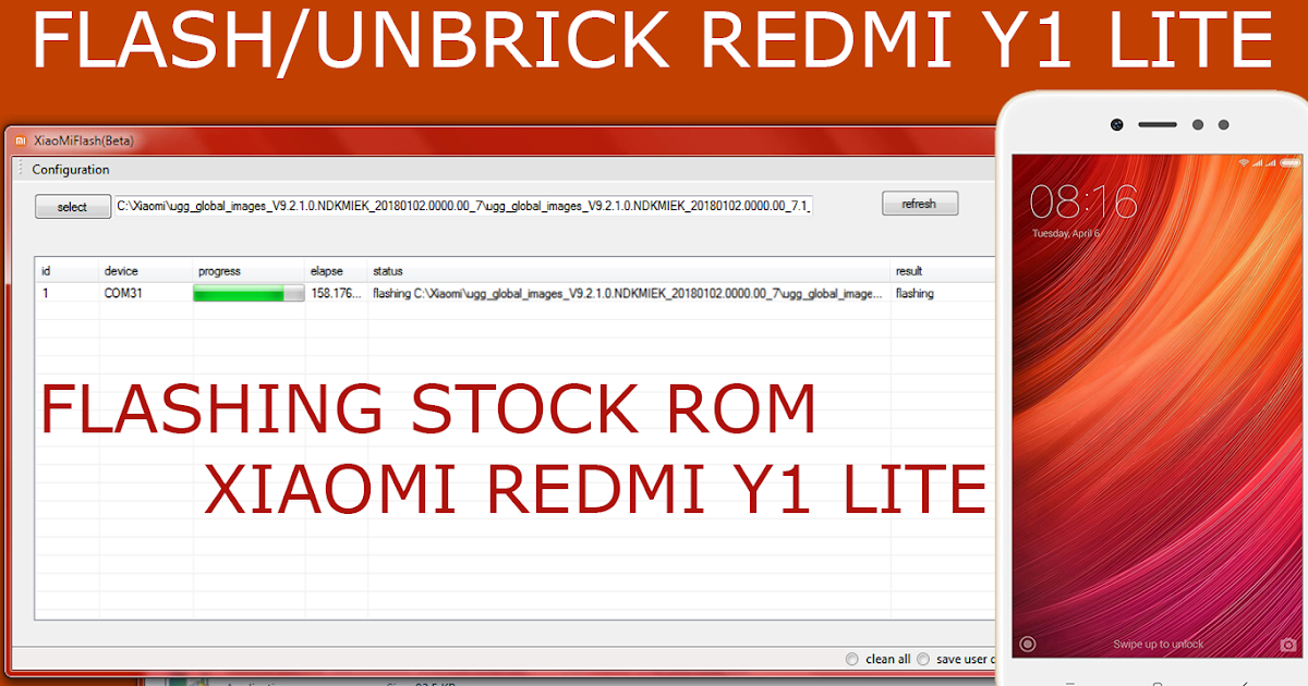 FLASH MIUI STOCK ROM ON XIAOMI REDMI Y1 | RootAndroidz