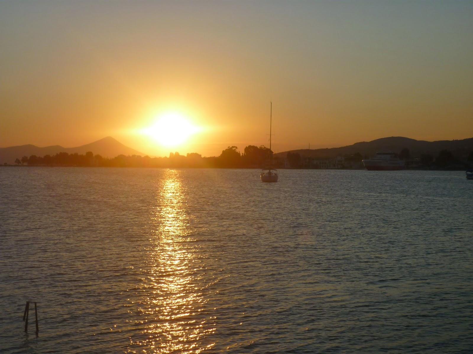 Golden Sea Sunset by Igor L.