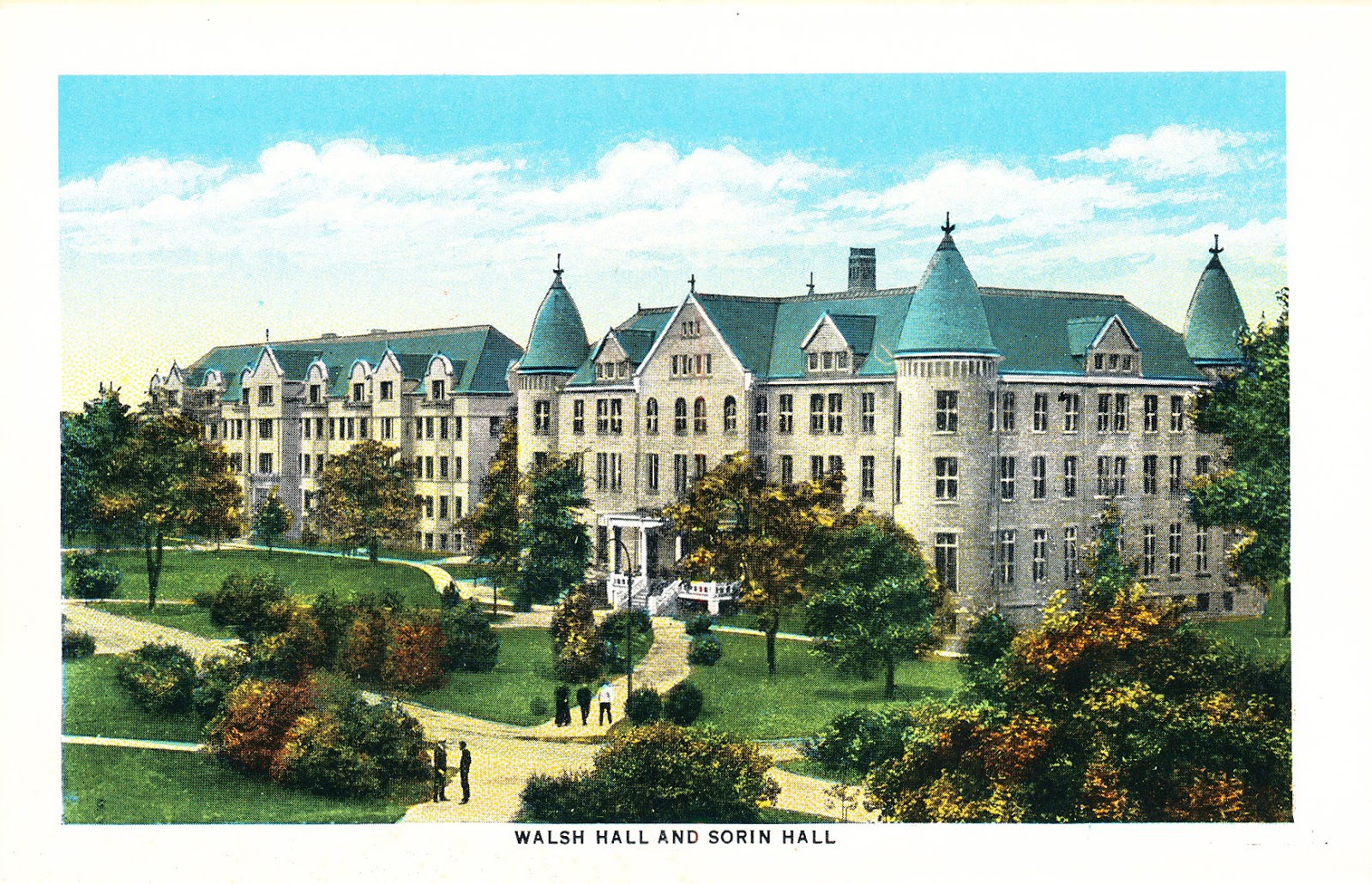 The University Of Notre Dame Class Of 1969 Blog A Photo History Of Notre Dame S Dorms From 1882 To 1969