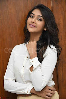 Pooja Jhaveri in White Shirt and Brown Trousers Spicy Pics 08.jpg