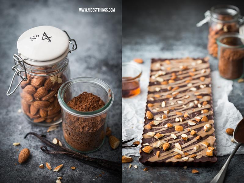 rezept gesunde vegane schokolade mit mandeln selber. Black Bedroom Furniture Sets. Home Design Ideas