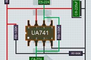Driver Sub Woofer dengan IC UA741