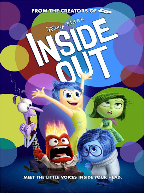 Cartel película de Pixar Animation Studios Inside Out