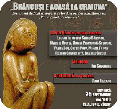 Brancusi e acasa la Craiova