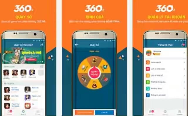 hướng dẫn dùng app 360game