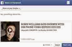 Video falso de despedida de Robin Williams que circula en Facebook, en realidad es un virus