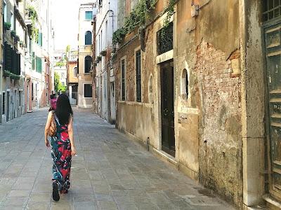 Woman, Maxi Dress, McCall's 7591, Venice
